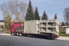 Транспортировка затворы Дубосарская ГЭС