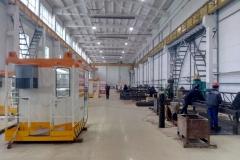 Производство кабин кранов 1