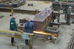 Обработка металлоконструкции